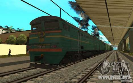 FERROCARRIL mod II para GTA San Andreas sexta pantalla