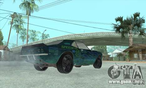Speedevil de FlatOut para vista lateral GTA San Andreas