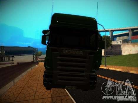 Scania R580 para visión interna GTA San Andreas