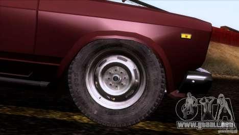 IZH 27175 para las ruedas de GTA San Andreas