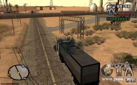 Tablero de instrumentos activos v3.2 (b) para GTA San Andreas quinta pantalla