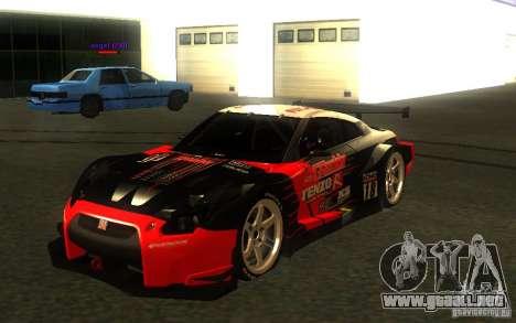 Nissan Skyline R35 GTR para las ruedas de GTA San Andreas