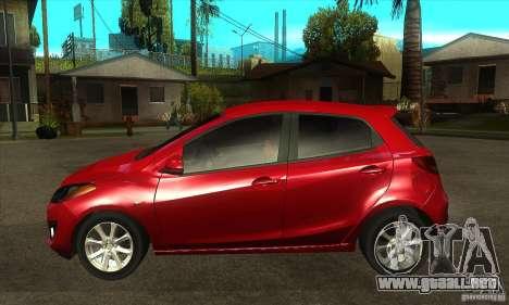 Mazda 2 2011 para GTA San Andreas left