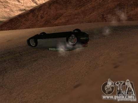 No te quemes coches volcados para GTA San Andreas séptima pantalla