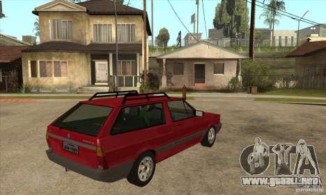 VW Parati GL 1994 para la visión correcta GTA San Andreas