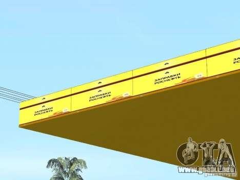 Nuevas texturas gasolineras para GTA San Andreas sexta pantalla