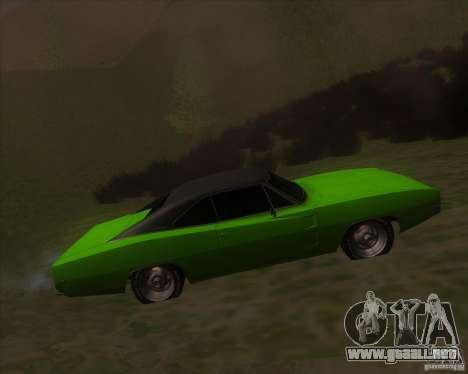 Dodge Charger RT 1968 para GTA San Andreas left