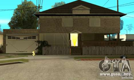 CJ Total House Remode para GTA San Andreas
