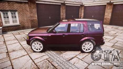 Land Rover Discovery 4 2011 para GTA 4 left