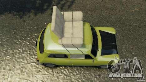 Mini Cooper para GTA 4 visión correcta