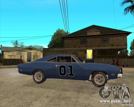 El general Lee Dodge cargador General Lee para GTA San Andreas