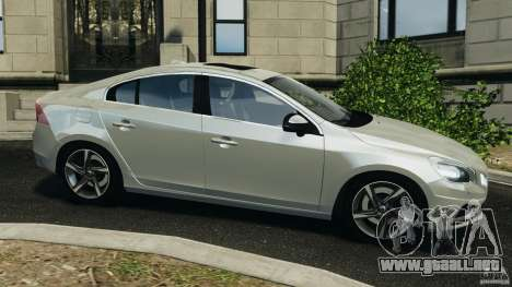 Volvo S60 R-Designs v2.0 para GTA 4 left