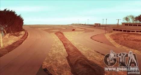 The Ebisu South Circuit para GTA San Andreas sucesivamente de pantalla
