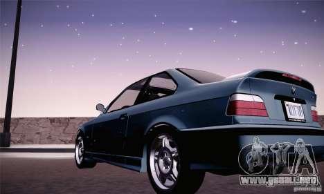 BMW E36 M3 Coupe - Stock para GTA San Andreas left