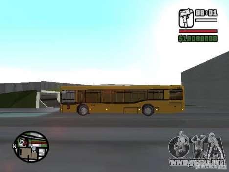 MAZ 103.465 para la visión correcta GTA San Andreas