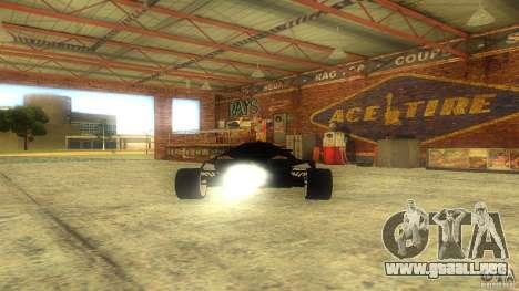 Lamborghini Concept para GTA San Andreas vista hacia atrás