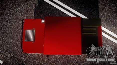 Hummer H1 4x4 OffRoad Truck v.2.0 para GTA 4 visión correcta