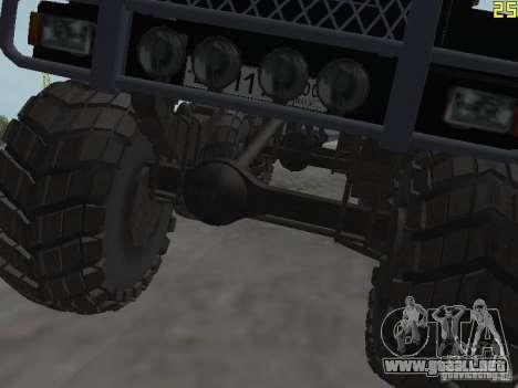 ZIL 497200 para GTA San Andreas vista hacia atrás