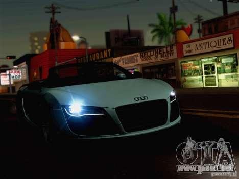 New Car Lights Effect para GTA San Andreas tercera pantalla