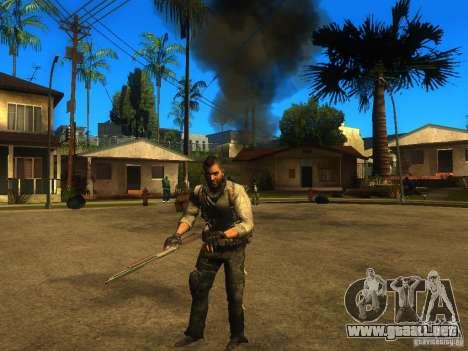 Animation Mod para GTA San Andreas sucesivamente de pantalla