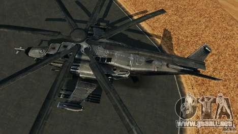 KA-50 Black Shark Modified para GTA 4 visión correcta