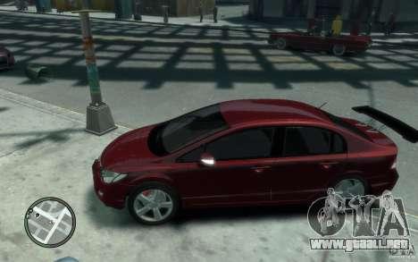 Honda Civic 2006 para GTA 4 left