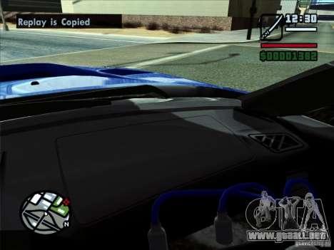 ENB NOV 2010 para GTA San Andreas segunda pantalla