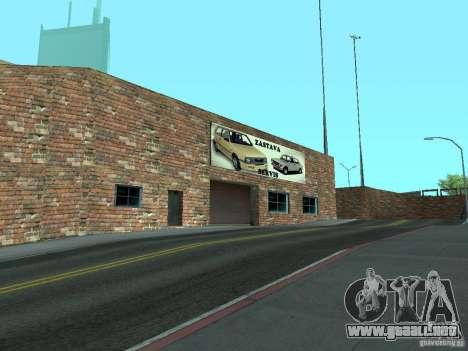 IMW Old Zastava Car Showroom para GTA San Andreas sucesivamente de pantalla