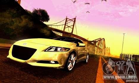 Honda CR-Z 2010 V2.0 para el motor de GTA San Andreas
