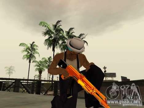 Black and Yellow weapons para GTA San Andreas sucesivamente de pantalla