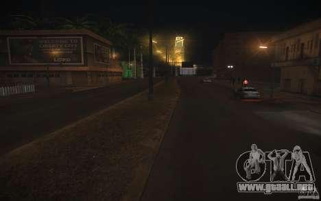 HD Road v 2.0 Final para GTA San Andreas tercera pantalla