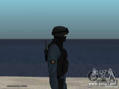 Oficial de policía antidisturbios para GTA San Andreas sexta pantalla