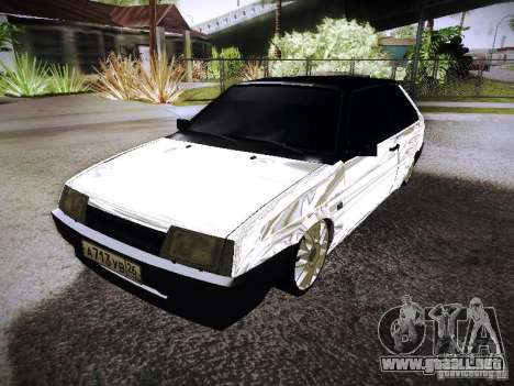 VAZ 2108 cromo para GTA San Andreas