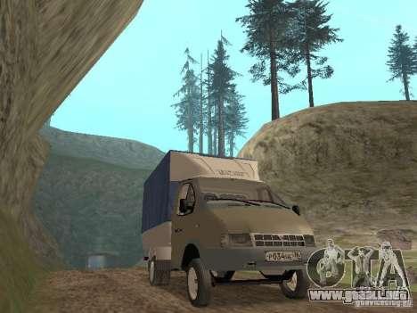 GAZ 3302 en 2001. para GTA San Andreas left