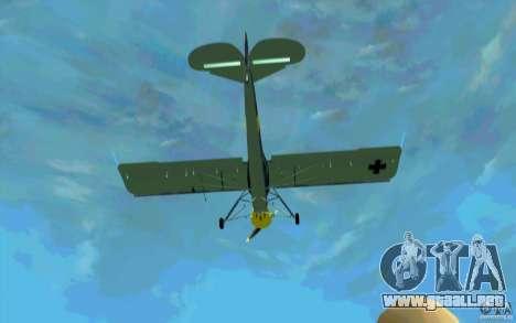 Fiesler Storch para visión interna GTA San Andreas