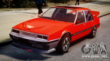 Willard DUB Edition para GTA 4 vista hacia atrás
