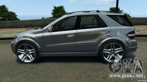 Mercedes-Benz ML63 AMG Brabus para GTA 4 left
