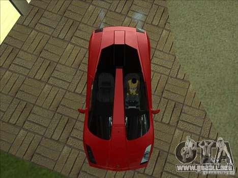 Lamborghini Concept S para la vista superior GTA San Andreas