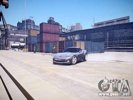 Chevrolet Corvette Z06 para GTA 4 visión correcta