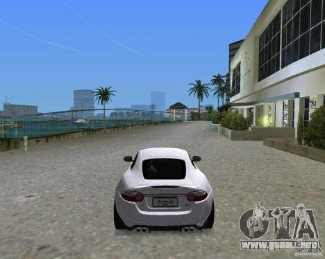 Jaguar XKR S para GTA Vice City vista lateral izquierdo