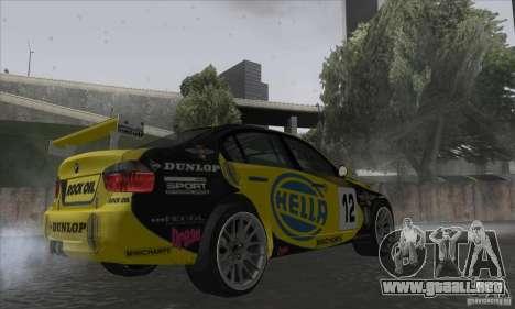 BMW 320i GRID para la visión correcta GTA San Andreas