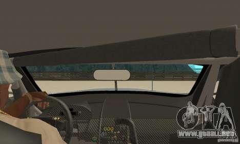 Aston Martin DBR9 (v1.0.0) para la visión correcta GTA San Andreas