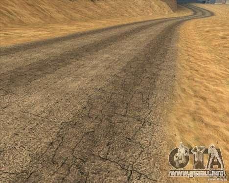Desert HQ para GTA San Andreas séptima pantalla