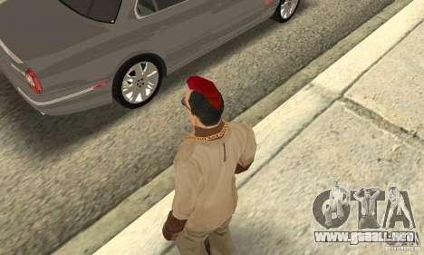 Red Mohawk and Black Stubbles para GTA San Andreas tercera pantalla