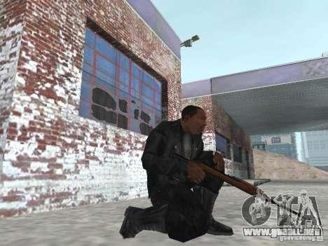 M1A1 Carbine para GTA San Andreas tercera pantalla