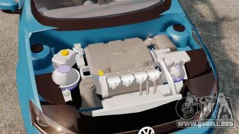 Volkswagen Voyage G6 2013 para GTA 4 vista lateral