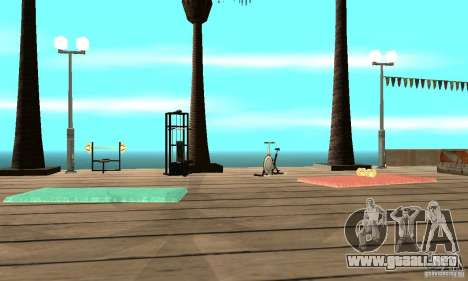 Dan Island v1.0 para GTA San Andreas sucesivamente de pantalla