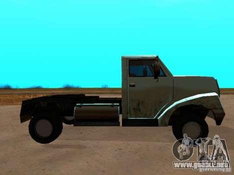 Yankee Truck para GTA San Andreas left