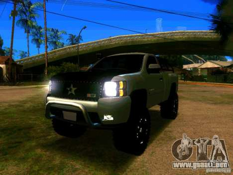Chevrolet Silverado Final para GTA San Andreas