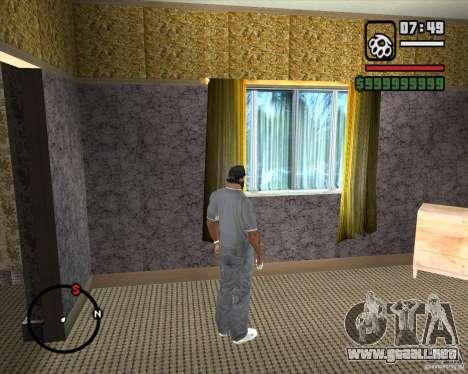 Sustitución de la CJeâ casa entera para GTA San Andreas séptima pantalla